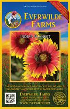 1 Oz Indian Blanket Wildflower Seeds - Everwilde Farms Mylar Seed Packet