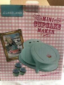 Lakeland Mini Cupcake Maker In Box Unused