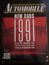 Automobile Magazine October 1990 New Cars GM Comeback Ford Firing Z3 EE AZ