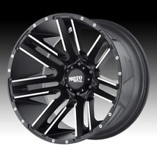 Moto Metal, Razor ,20 inch MO978 20x10 Satin Black/ Milled Alloy Mag Wheel Rim
