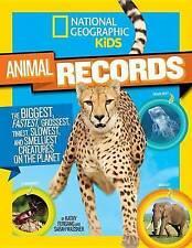 NATIONAL Geographic Bambini Animali RECORDS: il più grande e più stramba, più veloce,.