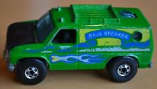 Hot Wheels Baja Breaker - Vert - Beauté - Vintage 4x4 Blackwall