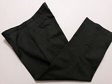 Knightsbridge Mens Dress Pants 44 x 30 Gray Flat Front Slacks