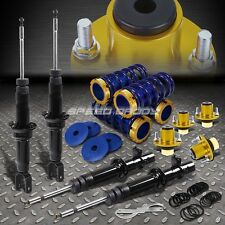 DNA SHOCK ABSORBER STRUT+SCALED COILOVER+GOLD EXTEND TOP HAT FOR 96-00 CIVIC EK