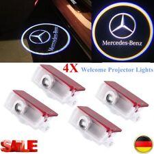 4X For Mercedes Benz Projektor Auto Tür LED Höflichkeitslicht Pfütze Laser uE