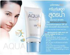 Mistine AQUA Base Sunscreen Facial Cream SPF 50 PA+++ Oil Free Formula 20g