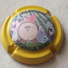 Capsule de Champagne JEANNAUX-ROBIN (14. contour jaune)