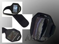 Adjustable Outdoor Sport Armband Case Cover for Apple iPhone 3/3GS/4/4S/5 BLACK