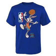 New listing Space Jam T-Shirt The Hook 31st Bugs Team Tunes Looney A New Legacy Adult Blue