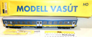 FUGgERth GySEV Bh 50 43 20-27 304-9 Personenwagen 2.Kl blau gelb H0 1:87 OVP å