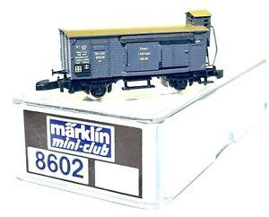 Märklin MiniClub 8602 - Güterwagen mit Bremserhaus - Spur Z - OVP - TOP Zustand!