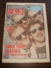 NME 1989 JULY 1 POGUES MALCOLM MCLAREN THROWING MUSES NEW ORDER ROACHFORD