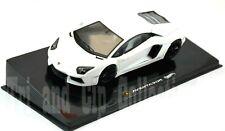 M0146 Modellino auto HOT WHEELS Elite 1:43 - Lamborghini Aventador Bianco