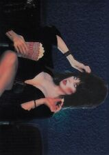 1996 COMIC IMAGES ELVIRA MISTRESS OF THE DARK TRADING CARD CHROME CARD C3