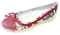 Laura Vita Damen Schuhe Slipper Halbschuh Ballerina Dexter 01 SL1518-1 rot