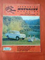 TMM Tasmanian Motorist Magazine Barry Lake June July 1965 Mini De Luxe