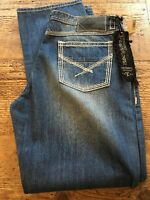 MENs ROCK & ROLL COWBOY TUF COOPER COMPETITION Straight Md Wsh Jeans 38 X 34 NWT