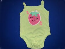Baby Girl 0-3 Month Tank Top One Piece