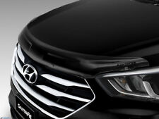 Genuine Hyundai Santa Fe Smoked Bonnet Protector DM Part AL0202W000DS