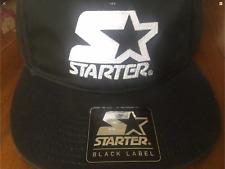 Starter Black Adjustable Strap Cap - Black Label (BNWT)