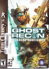 Tom Clancy's Ghost Recon: Advanced Warfighter (PC, 2006, UbiSoft)