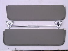 1956 56  FORD TRUCK F100  F250 SUNVISOR & CHROME BRACKETS NEW