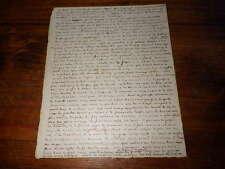 1858.Manuscrit voyage en Russie.Théophile Gautier