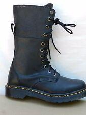 Dr Martens Hazil Virginia Black Chaussures Femme 40 Bottes Montantes UK6.5 Neuf