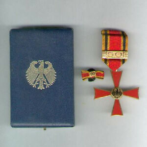 GERMANY, Federal Republic. Order of Merit, Cross of Merit for Men with 50 clasp