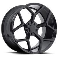 MRR M228 20x10/20x11 5x120 Black Rims Fits Camaro SS 1SS Package 2010 2011 2012