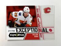 2018-19 18-19 UD Upper Deck Synergy Exceptional Talent #ET-15 Dillon Dube /749