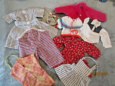 LOT VINTAGE LARGE SIZE DOLL CLOTHES MOSTLY HANDMADE