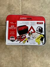 Justin Case Auto Safety Kit Booster Cables Jumper Start Car Free Shipping