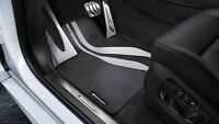 Genuine BMW M Performance Floor Mats F12 F13 6 Series M6 FRONT - LHD / RHD
