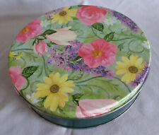 Flower Garden Tin Music Box - Waltz Of The Flowers