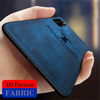 For iPhone 11 Pro Max Xs Xr 8 7 6s Hybrid Soft TPU Leather Case Shockproof Cover