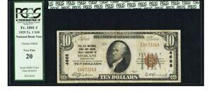 Spokane, WA - $10 1929 Ty. 1 The Old NB & Union TC Ch. # 4668 PCGS Very Fine 20.