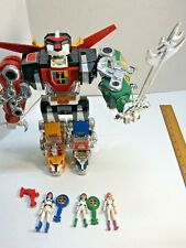 "Vintage 1984 Voltron World Events Productions Rare 13"" Voltron With Accessories"