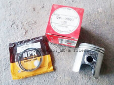 Suzuki TS100 TC100 GT185 (1973 - 1977) Piston & Ring Set OS 1.00 (Dia=50.00mm.)