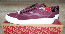 Vans Chima Pro 2 UltraCush Port Royale/Tr Wh Suede/Canvas Skate Shoes Mens 7