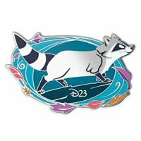 D23 Disney Pocahontas 25th Anniversary Meeko Pin Limited Edition NWT