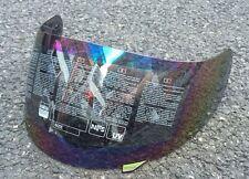 Motorcycle Visor Helmet Lens Face Shield For AGV K3 K4 Rainbow Colorful MIRROR