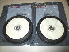 2 Pack Genuine Honda 42710-VE2-M02ZA Rear Wheel NH31 Fits HRB215 HRM215 OEM