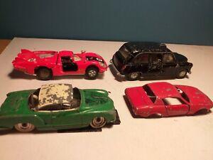 DINKY TOYS  LOT, CARS, c1950`s-70`s, spares/ repair, Austin, VW, Alfa, Triumph