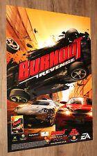 Burnout Revenge very rare Promo Poster  84x59.5cm Playstation 2 Xbox 360