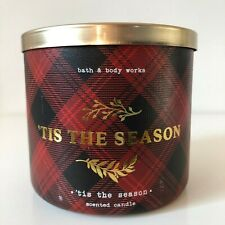 Bath & Body Works ~ TIS THE SEASON ~ 3-Wick Candle *Free Expedited Shipping*