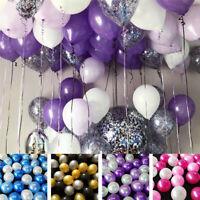 30PCS 10inch Latex Balloon Wedding Birthday Party Helium Balloons Decor Supplies