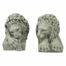Design Toscano Lions from the Vatican Sculptures set of two Lion Statues New
