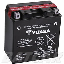 Yuasa wartungsfrei Batterie Ytx20ch-bs 12v Moto Morini Sport 1200