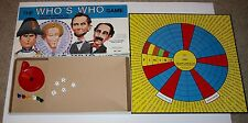 The Whos Who Game - The Name Game of the Famous and Infamous 1886 Cadaco Rare